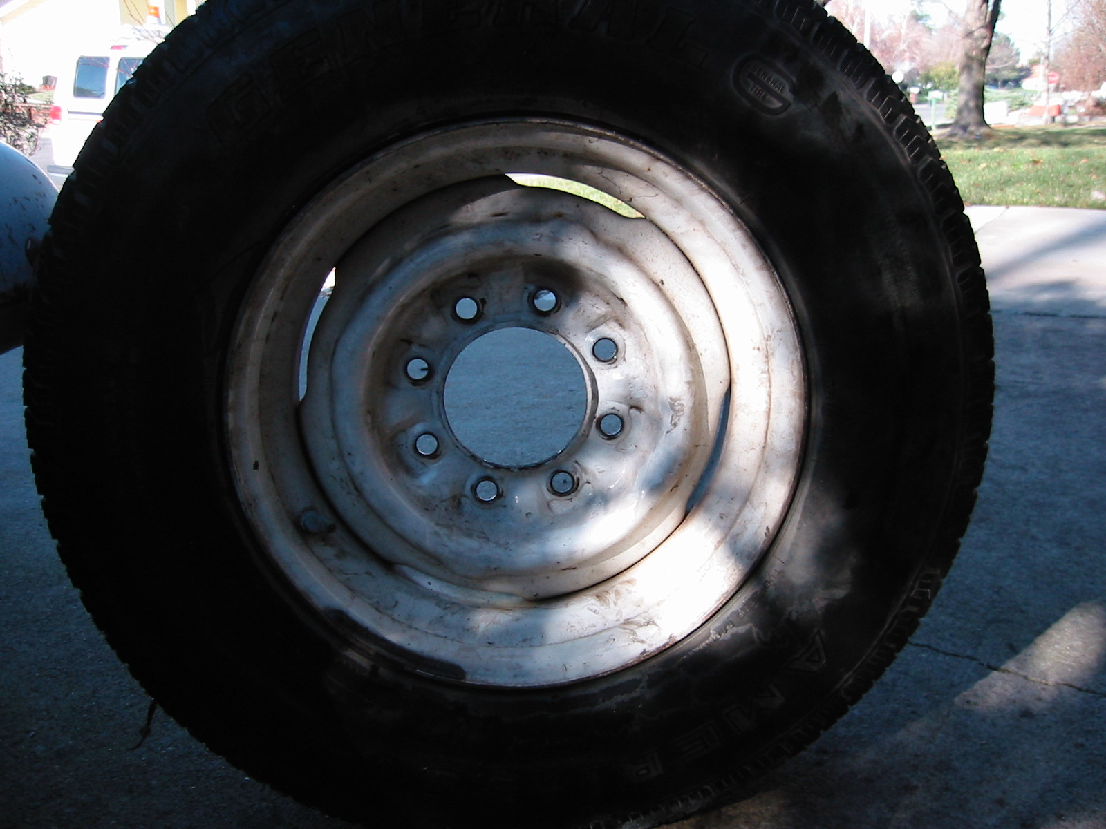 """Used Tires Prices >> 16.5"""" Rims and Safety Beads"""