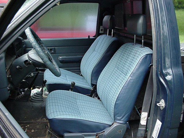 1990 Toyota Pickup Bench Seat Covers Velcromag